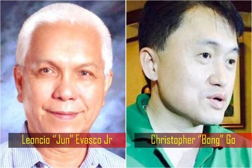 "Rodrigo Duterte Trusted Men – Leoncio ""Jun"" Evasco Jr and Christopher ""Bong"" Go"