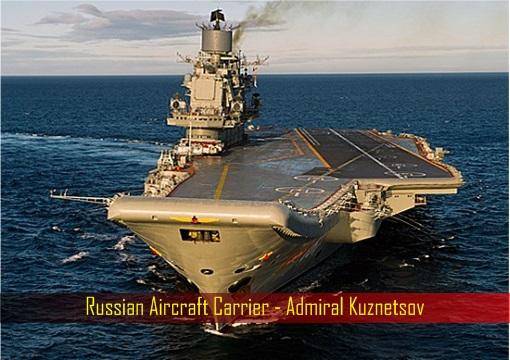 Russia Aircraft Carrier Admiral Kuznetsov