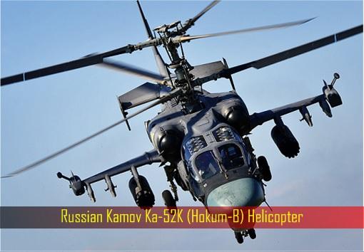 Russian Kamov Ka-52K (Hokum-B) Helicopter