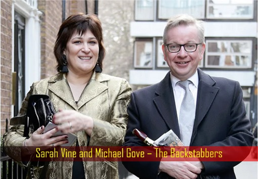 Sarah Vine and Michael Gove – The Backstabbers