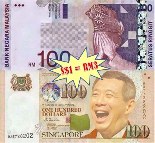 Singapore-Kuala Lumpur HSR High-Speed Rail Project - Revenue Sharing - Singapore Dollar to Malaysia Ringgit Exchange Rate