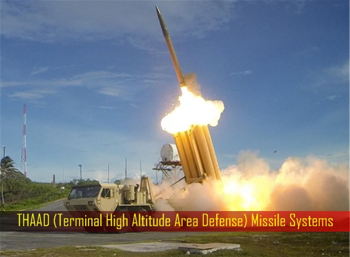 THAAD (Terminal High Altitude Area Defense) Missile Systems - Launching