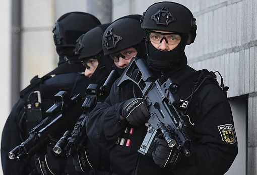 Terrorist ISIS Attacks Threat in Germany - Special Forces in Action
