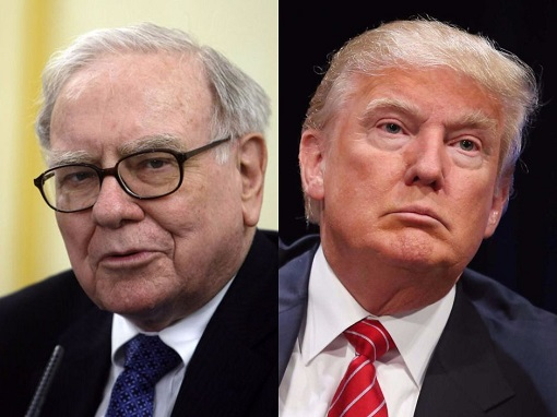 Donald Trump and Warren Buffett - Business Philosophy - Disagreement