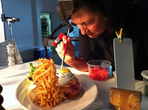 Food Stylist at Work