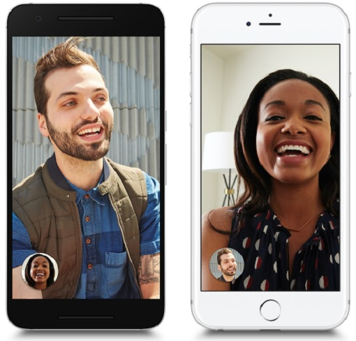 Google Duo - Works on Android and Apple iOS