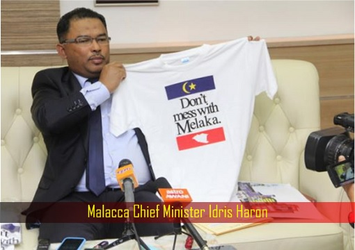 Malacca Chief Minister Idris Haron
