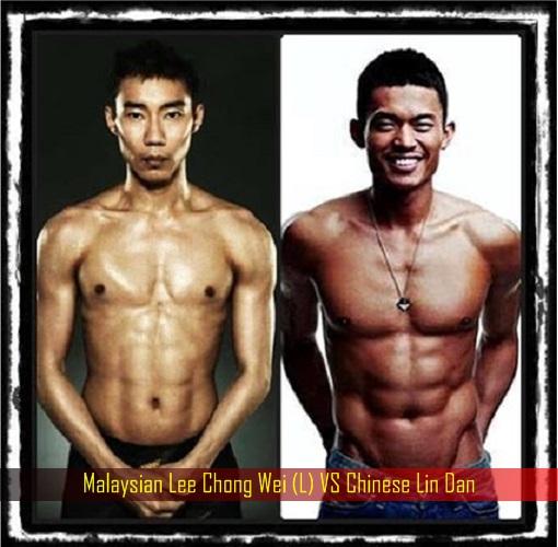 Malaysian Lee Chong Wei VS Chinese Lin Dan