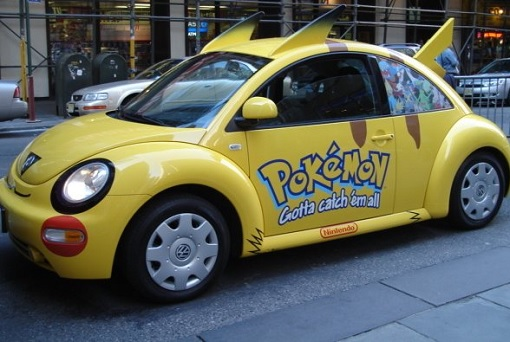 Pokémon GO - Beatle Car