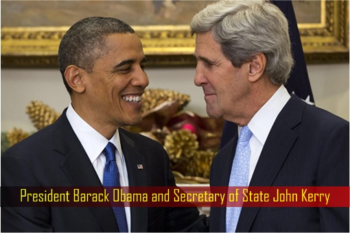 President Barack Obama and Secretary of State John Kerry