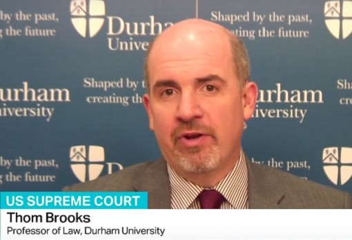 Professor Thom Brooks - head of Durham University Law School