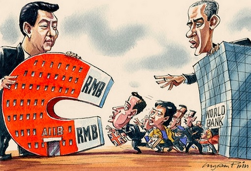 China AIIB Attracts US America Allies