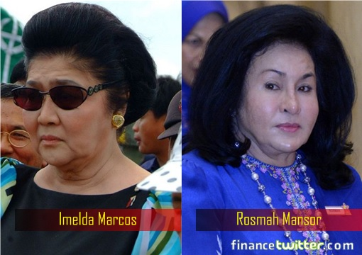 corrupt-first-lady-imelda-marcos-and-rosmah-mansor