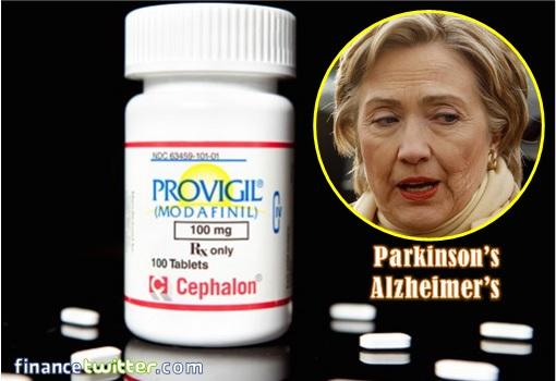 hillary-clinton-medically-unfit-provigil-drug-parkinsons-or-alzheimers