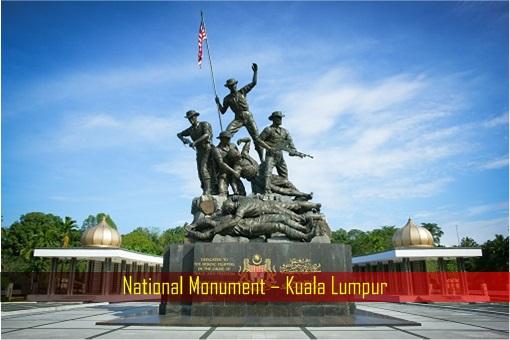 National Monument - Tugu Negara - Kuala Lumpur
