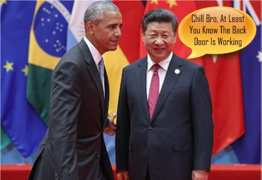 Obama's Humiliating Exit – President Xi Jinping Teases Obama On Back Door