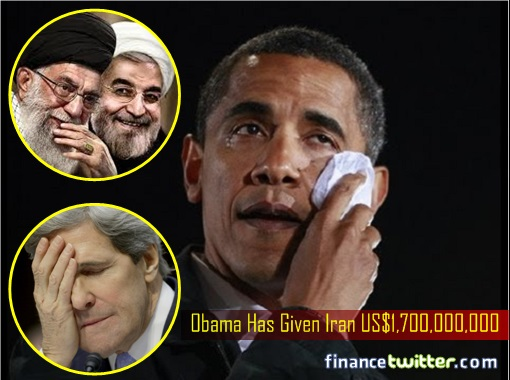 Obama Has Given Iran US Dollar 1.7 Billion Secret Cash
