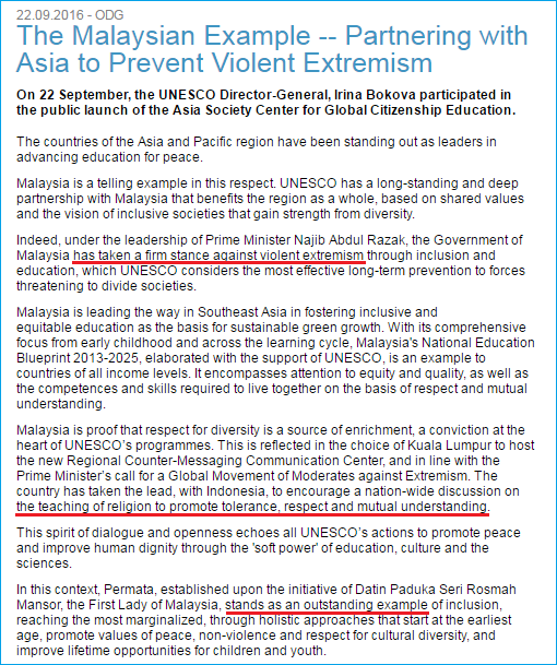 rosmah-unesco-award-statement-by-director-general-irina-bokova-the-malaysian-example-partnering-with-asia-to-prevent-violent-extremism