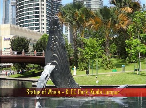 Statue of Whale – KLCC Park, Kuala Lumpur
