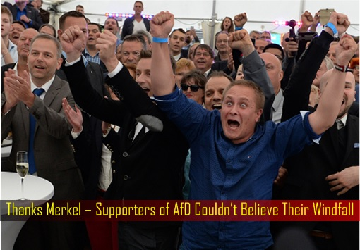 Thanks Merkel – Supporters of AfD Couldn't Believe Their Windfall - Mecklenburg-West Pomerania Election