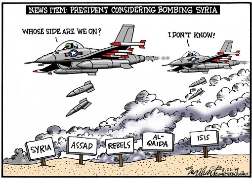 us-considering-bombing-syria-not-knowing-which-side-cartoon