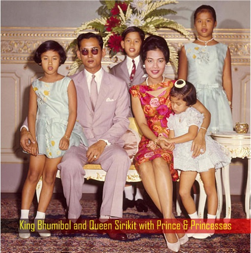 king-bhumibol-and-queen-sirikit-with-prince-and-princesses