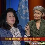 Rosmah's Admirer - Irina Bokova - Fails To Get UN Secretary-General Job