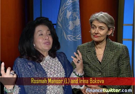rosmah-mansor-and-unesco-chief-irina-bokova