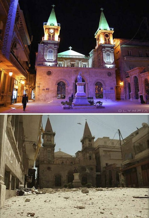 syrian-civil-war-the-ancient-city-of-aleppo-before-and-after-war