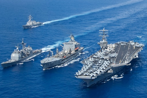 us-navy-aircraft-carrier-destroyer-frigate-in-formation