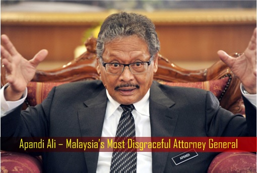 After Dancing With His Corrupt Boss, A.G. Apandi Is Now Bullying Small Kids