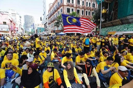 bersih-5-0-multiracial-participants