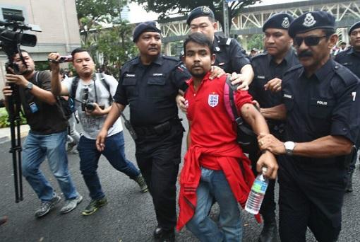 bersih-5-0-police-arrest-a-red-shirt-mobster