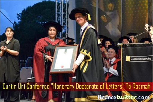 curtin-university-conferred-honorary-doctorate-of-letters-to-rosmah
