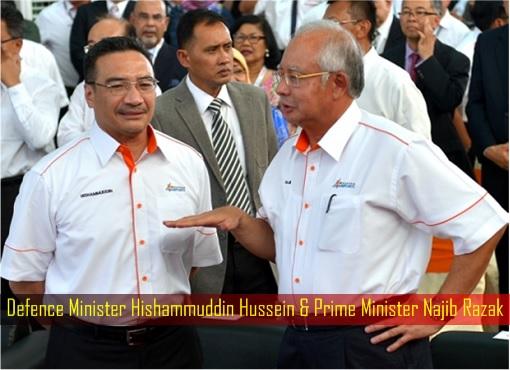 defence-minister-hishammuddin-hussein-prime-minister-najib-razak