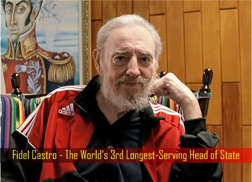 fidel-castro-the-worlds-3rd-longest-serving-head-of-state