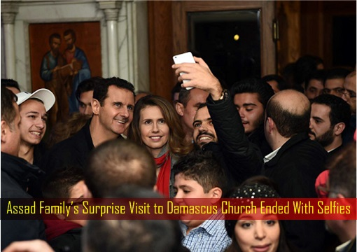 assad-familys-surprise-visit-to-damascus-church-ended-with-selfies