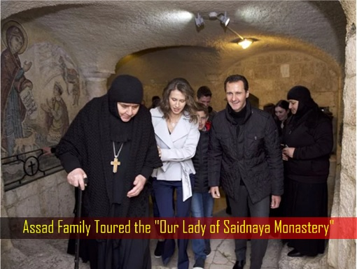 assad-family-toured-the-our-lady-of-saidnaya-monastery