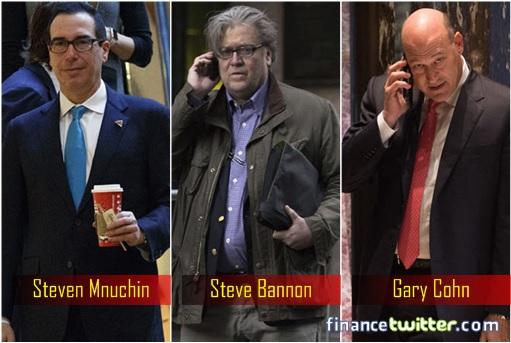 donald-trump-hiring-of-ex-goldman-sachs-steven-mnuchin-steve-bannon-gary-cohn