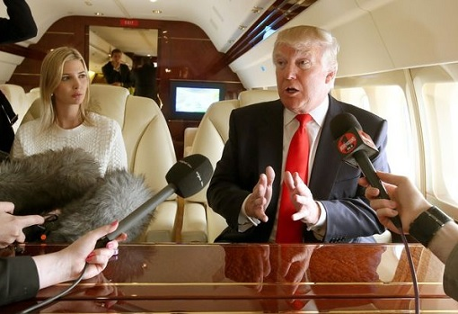 donald-and-ivanka-trump-aboard-trump-force-one-giving-interview