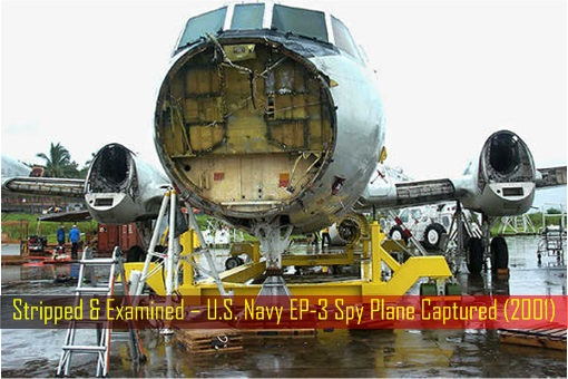 stripped-and-examined-u-s-navy-ep-3-spy-plane-captured-2001