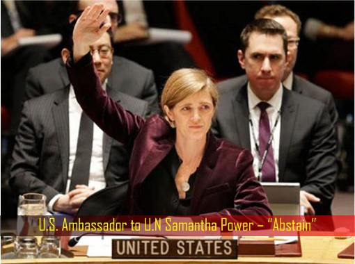 u-s-ambassador-to-u-n-samantha-power-vote-abstain-on-israel-resolution