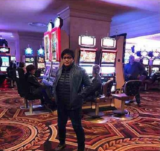 Azalina Othman - Minister in the Prime Minsiter's Department - In Casino Las Vegas
