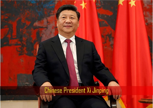Chinese President Xi Jinping - Sitting on Chair