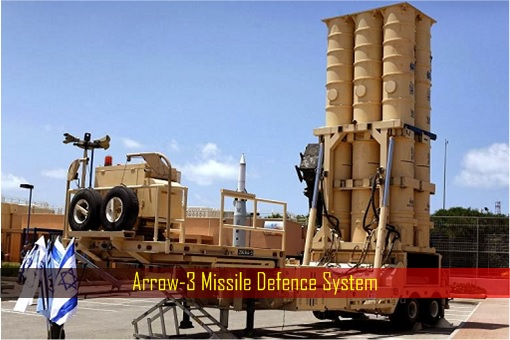 Israel Arrow 3 Missile Defence System