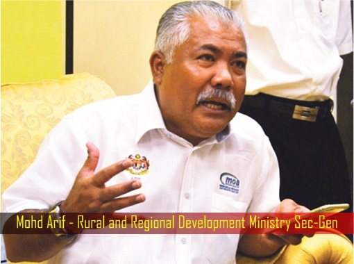 mohd-arif-rural-and-regional-development-ministry-sec-gen