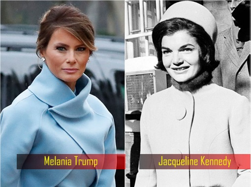 Trump Presidential Inauguration - Melania Trump and Jacqueline Kennedy