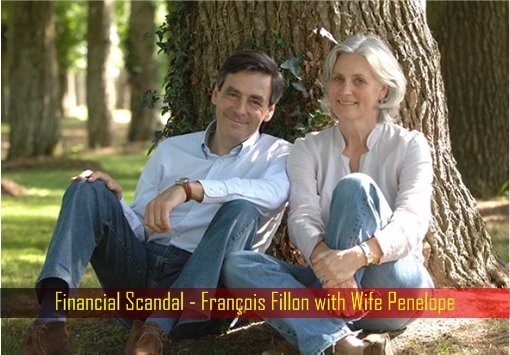 Financial Scandal - François Fillon with Wife Penelope