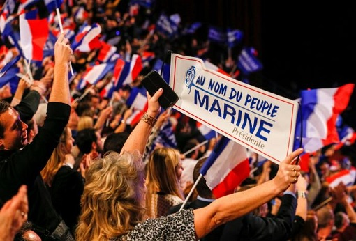 France Presidency 2017 - Marine Le Pen Supporters