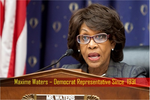 Maxime Waters – Democrat Representative Since 1991